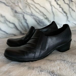 Clarks Leather Slip On Loafers 10W